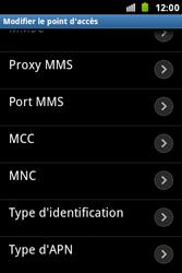 Samsung S7500 Galaxy Ace Plus - MMS - configuration manuelle - Étape 13