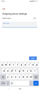 Sony Xperia 5 - E-mail - manual configuration - Step 19