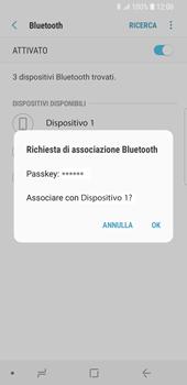 Samsung Galaxy S9 - Bluetooth - Collegamento dei dispositivi - Fase 8