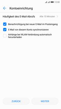 Huawei Mate 9 Pro - E-Mail - Konto einrichten (yahoo) - Schritt 8