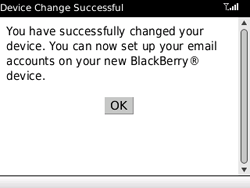BlackBerry 8520 Curve - E-mail - Manual configuration - Step 8
