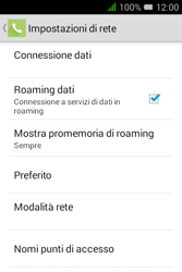 Alcatel Pixi 3 (3.5) - Internet e roaming dati - Disattivazione del roaming dati - Fase 6