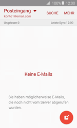 Samsung J120 Galaxy J1 (2016) - E-Mail - E-Mail versenden - Schritt 4