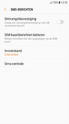 Samsung Galaxy A5 (2017) - Android Nougat - SMS - Handmatig instellen - Stap 10
