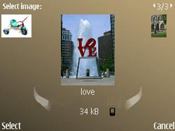 Nokia E72 - MMS - Sending pictures - Step 14