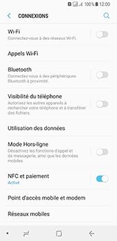Samsung Galaxy A8 (2018) - Réseau - Changer mode réseau - Étape 5