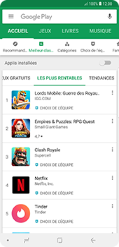 Samsung Galaxy Note9 - Applications - Télécharger des applications - Étape 8