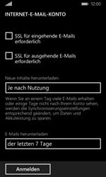 Nokia Lumia 635 - E-Mail - Konto einrichten - Schritt 17