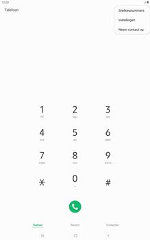 Samsung galaxy-tab-a-10-5-sm-t595-android-pie - Voicemail - Handmatig instellen - Stap 5