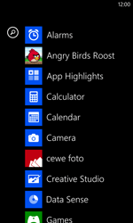 Nokia Lumia 1020 - Getting started - Personalising your Start screen - Step 3