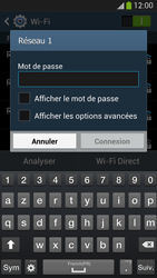 Samsung I9505 Galaxy S IV LTE - Wifi - configuration manuelle - Étape 6