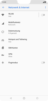 Nokia 6.1 Plus - WLAN - Manuelle Konfiguration - 5 / 10