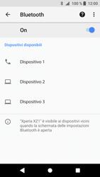 Sony Xperia XZ1 - Bluetooth - Collegamento dei dispositivi - Fase 7