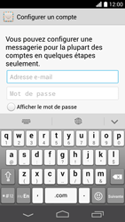 Huawei Ascend P6 - E-mail - Configuration manuelle - Étape 6