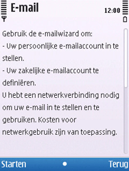 Nokia 6700 slide - E-mail - Handmatig instellen - Stap 7