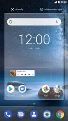 Nokia 8 - Operazioni iniziali - Installazione di widget e applicazioni nella schermata iniziale - Fase 5