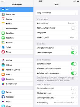 Apple iPad mini 4 iOS 10 - E-mail - e-mail instellen: POP3 - Stap 4