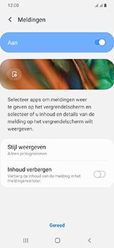 Samsung Galaxy A20e - Beveiliging en privacy - automatische schermblokkering instellen - Stap 11