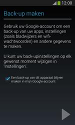 Samsung Galaxy S3 Mini Lite - apps - account instellen - stap 23