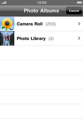 Apple iPhone 4 S - MMS - Sending pictures - Step 8