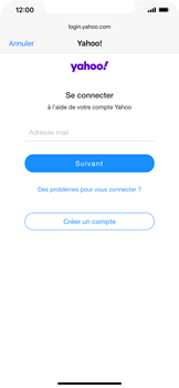 Apple iPhone 11 - E-mail - 032b. Email wizard - Yahoo - Étape 6