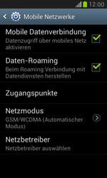 Samsung Galaxy S3 Mini - Netzwerk - Netzwerkeinstellungen ändern - 6 / 7