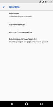 Nokia 5.1 - Toestel reset - terugzetten naar fabrieksinstellingen - Stap 6