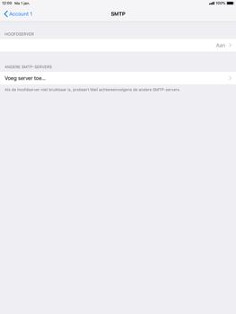 Apple ipad-9-7-ios-12 - E-mail - Account instellen (POP3 met SMTP-verificatie) - Stap 17