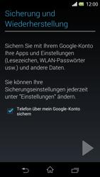 Sony Xperia L - Apps - Konto anlegen und einrichten - 1 / 1