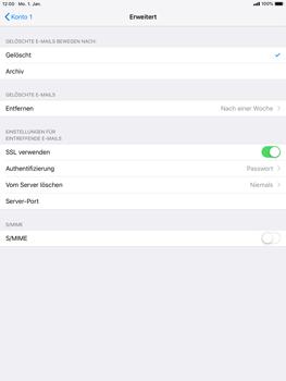 Apple iPad mini 3 - E-Mail - Konto einrichten - 22 / 27