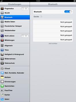 Apple iPad mini - Bluetooth - Geräte koppeln - Schritt 7