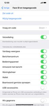 Apple iPhone XR - Beveiliging - stel in of wijzig pincode voor je toestel - Stap 8