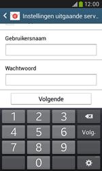 Samsung S7580 Galaxy Trend Plus - E-mail - handmatig instellen - Stap 14