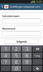 Samsung Galaxy Trend Plus (S7580) - E-mail - Account instellen (POP3 met SMTP-verificatie) - Stap 14
