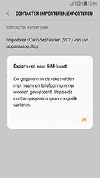 Samsung Galaxy A5 2016 (SM-A510F) - Android Nougat - Contacten en data - Contacten kopiëren van toestel naar SIM - Stap 9