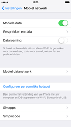 Apple iPhone 6 iOS 9 - Internet - dataroaming uitschakelen - Stap 5