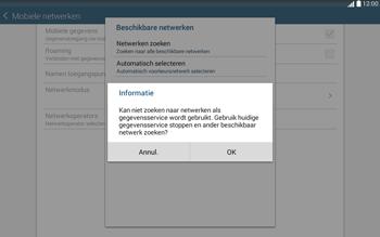 Samsung Galaxy Tab4 10.1 4G (SM-T535) - Buitenland - Bellen, sms en internet - Stap 8