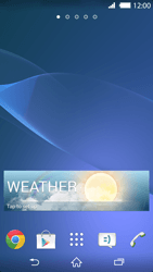 Sony Xperia Z2 - Getting started - Installing widgets and applications on your start screen - Step 8