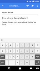 Sony Xperia XZ1 - E-mails - Envoyer un e-mail - Étape 10