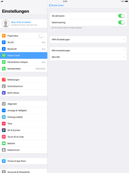 Apple ipad-pro-12-9-inch-mit-ios-11 - Ausland - Im Ausland surfen – Datenroaming - Schritt 8