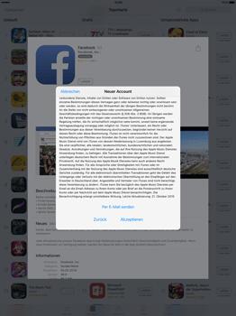 Apple iPad Pro 12.9 inch - Apps - Konto anlegen und einrichten - 20 / 35