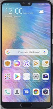 Huawei P20 Pro - Android Pie - Dispositivo - Come eseguire un soft reset - Fase 2