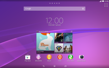Sony Xperia Tablet Z2 LTE - Bluetooth - Jumelage d