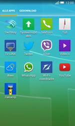 Alcatel Pop S3 (OT-5050X) - Voicemail - handmatig instellen - Stap 4