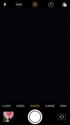 Apple iPhone SE - iOS 11 - Photos, vidéos, musique - Prendre une photo - Étape 8