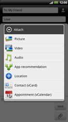 HTC X515m EVO 3D - MMS - Sending pictures - Step 9