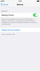 Apple iPhone 6 iOS 8 - Applicazioni - Configurazione del servizio Apple iCloud - Fase 13