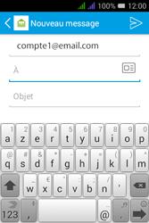 Alcatel Pixi 3 Dual Sim - E-mails - Envoyer un e-mail - Étape 5