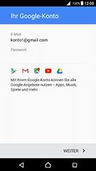 Sony Xperia X - Apps - Konto anlegen und einrichten - 16 / 20