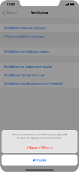 Apple iPhone XR - iOS 13 - Appareil - Restauration d